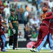 Pakistan v West Indies in ICC Champions Trophy 2013 at The Oval