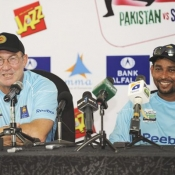 Press Conference for PAK - SL series, Abu Dhabi