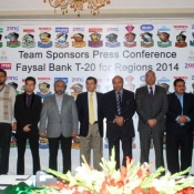 Faysal Bank T20 Cup 2014  Team Sponsors