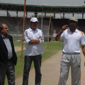 Seventh Day Photos of PCB-UFONE Fast Bowler camp at National Stadium Karachi