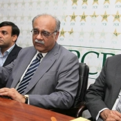 Acting Chairman PCB Mr. Najam Sethi press conference