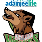 AdamjeeLife Faisalabad Wolves Logo for Broadcaster, print, Outdoor, Electronic & all mediums