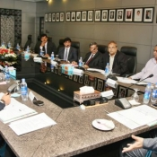 The 28th meeting of PCB Governing Board was held today at NCA Lahore