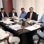The seventh Meeting of the PCB Management Committee held at Gaddafi Stadium Lahore