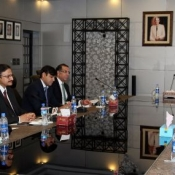 Chairman PCB Mr. Zaka Ashraf meeting with PIA management