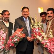 PCB Chairman Mr. Zaka Ashraf with FATA Region delegation