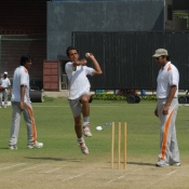 Fourth Day Photos of PCB-UFONE Fast Bowler camp at National Stadium Karachi
