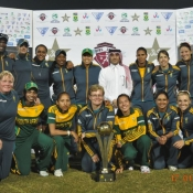 Qater International Women Tri-Nation tournament Final between Pakistan and South Africa