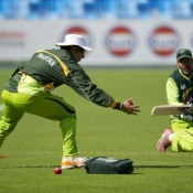 Practice Session before starting the 1st Test - Pak & Eng