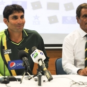 Press conference before second test match