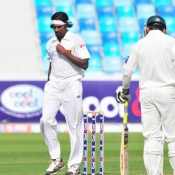 Pakistan v Sri Lanka 2nd Test at Dubai Jan 8-12, 2014