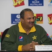 Press Conference before starting the 1st ODI b/w Pak & Eng