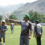 Day One pictures of Pakistan Team training camp at Abbottabad