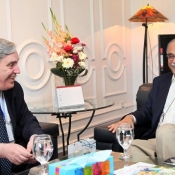 HE Philippe Thiebaud French Ambassador to Pakistan called on Chairman PCB