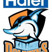 Haier Karachi Dolphins Logo for Boardcaster, print, Outdoor, electronic & all mediums