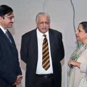 Former Chairman Ijaz Butt farewell photos