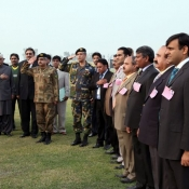 Inauguration of the newly build Shaheed Mohtarma Benazir Bhutto International Cricket Stadium at Garhi Khuda Bakhsh on Wednesday 26th December 2012