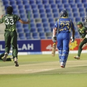 Pakistan v Sri Lanka, 5th ODI, Abu Dhabi