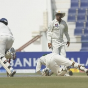 PAK VS SL - First Test Match - day 4 - Second Session