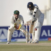 PAK VS SL - First Test Match - day 4 - Third Session