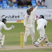 PAK VS SL - Second Test Match - day 4 - Third Session