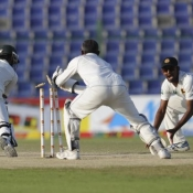 PAK VS SL - First Test Match - day 5 - Third Session