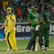 Pakistan vs Australia 1st Twenty20 at Dubai Sports City Stadium