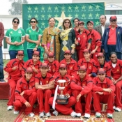 Lahore Women U-19s won the PCB National Under-19 Women's Championship 2013-14