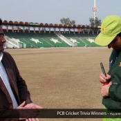 PCB Cricket Trivia Winners