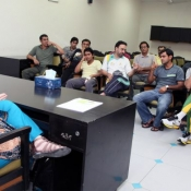 Angela Marie Sadiqua a Clinical Nutritionist and Weight Loss Councilor delivered a lecture to Lahore based National Players and NCA Coaching/Support Staff at NCA