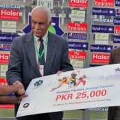 Faisalabad Wolves Farrukh Shehzad declares Man of the match against Lahore Eagles