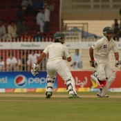 PAK VS SL - Third Test Match - day 5