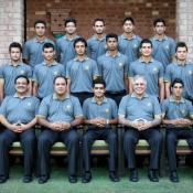 Group Photo of Pakistan U-19s Team for ACC U-19 Asia Cup 2012 in Malaysia
