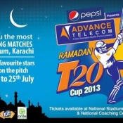 PEPSI presents Advance Telecom Ramadan T20 Cup 2013