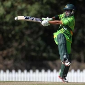 Pakistan Under-19s v Afghanistan Under-19s in ICC Under-19 World Cup 2012 match