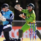 Pakistan Under-19s v Scotland Under-19s match in ICC Under-19s World Cup 2012