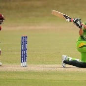 Pakistan Under-19s v West Indies Under-19s match in ICC Under-19 World Cup 2012