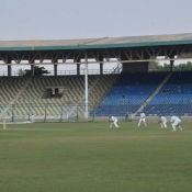 President's Trophy Final between HBL and SNGPL at National Stadium Karachi