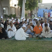 Sharjah Test Day 4 - EID Prayers Pictures