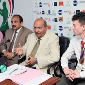 Press conference of COMSATS - LANCASTER Cricket Championship 2014