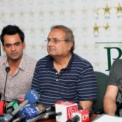 Press conference by Chief Selector Mr. Iqbal Qasim