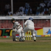 PAK VS SL - Third Test Match - day 4 - First Session