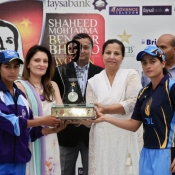 ZTBL Women and Omer Associates Women are the joint winners of 3rd Shaheed Mohtarma Benazir Bhutto Women Cricket Challenge T20 Trophy 2014