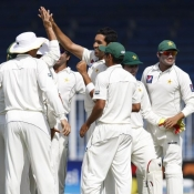 PAK VS SL - Third Test Match - day 4 - Second Session