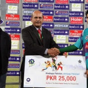 Rawalpindi Rams Umar Amin declares Man of the match against Karachi Dolphins