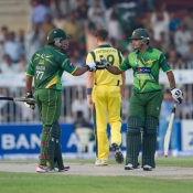 Pakistan vs Australia 1st ODI at Sharjah