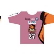 ZONG Quetta Bears Kits Branding
