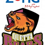 ZONG Quetta Bears logo for Broadcaster, Print, Outdoor, Electronic & all mediums