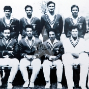 Pakistan  Cricket Team photographed during their tour of England in 1967