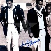 Imtiaz Ahmed and Richie Benaud
